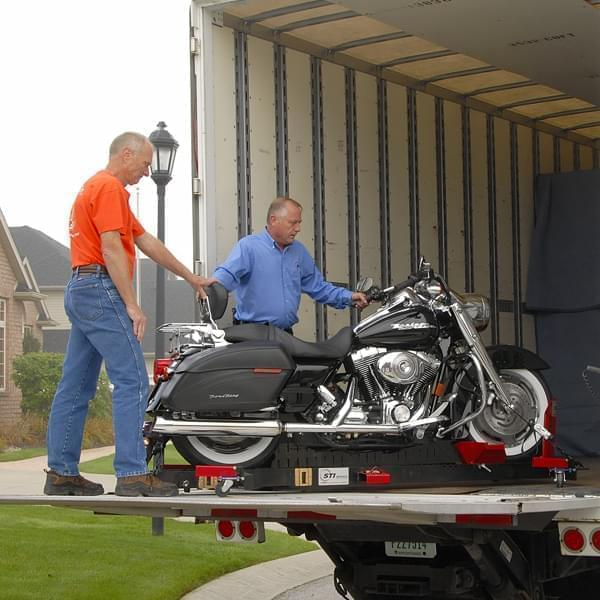 Motorcycle transport service